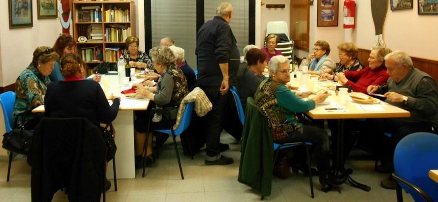 El Dijous gras se celebra al Casal del pensionista de Castellbel i el Vilar.