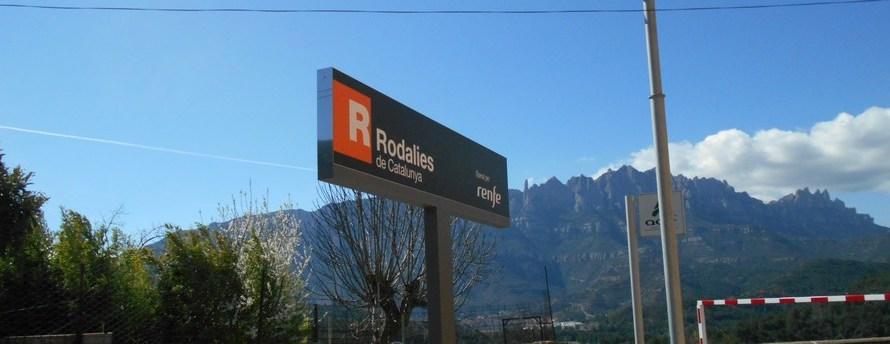 Rodalies senyalitza l'Estació del Nord de Castellbell i el Vilar