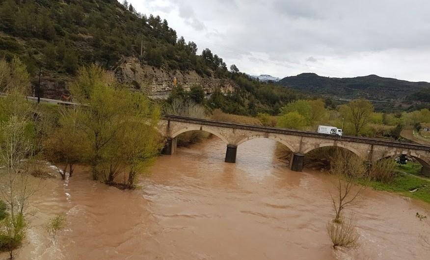 L'episodi de pluges dels dies 24 i 25 de Març, deixen més 70 Lm2 a Castellbell i el Vilar