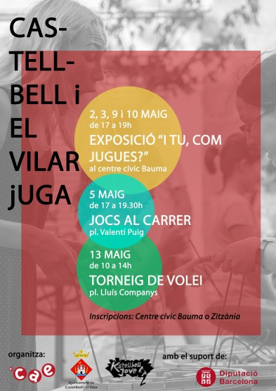 Castellbell i el Vilar Jugues _Cartell