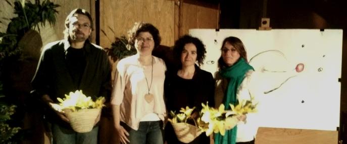La poetessa Sònia Moya fa un recital de poesies sobre la seva maternitat, a Castellbell i el Vilar.