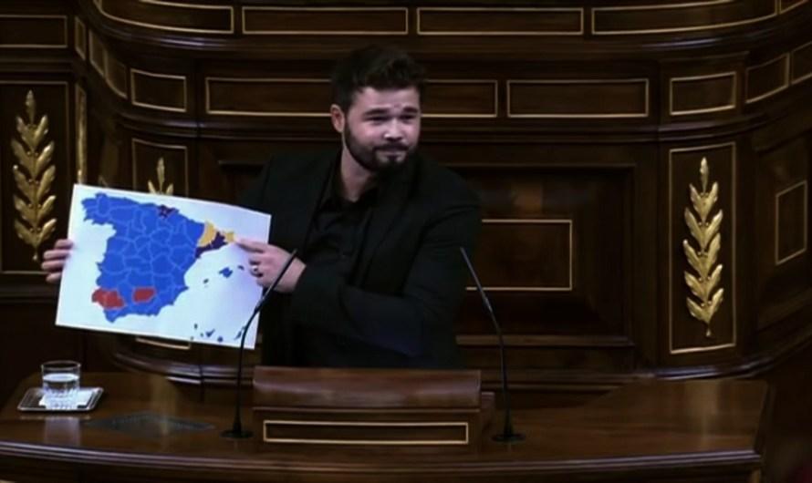 Rufián farà campanya pel Sí en el referèndum, dissabte al Bages.