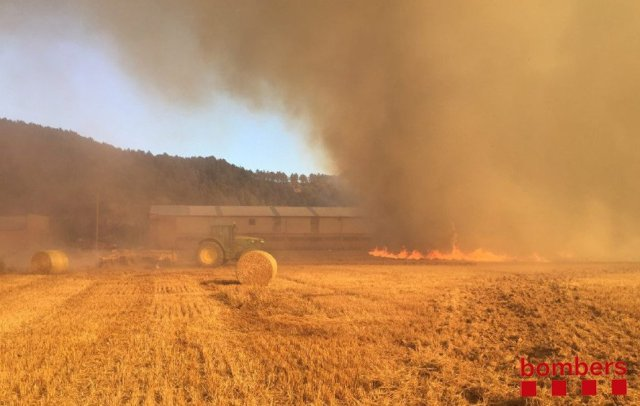 Incendi Avinyó juliol 2017