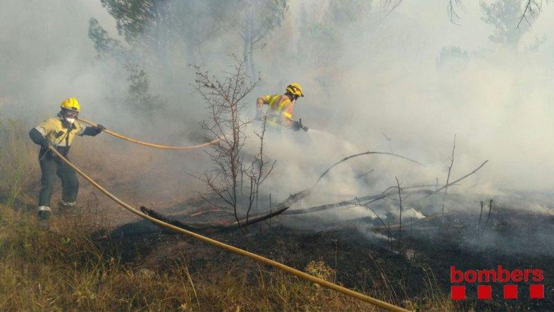 Incendi Navarcles Agost 2017
