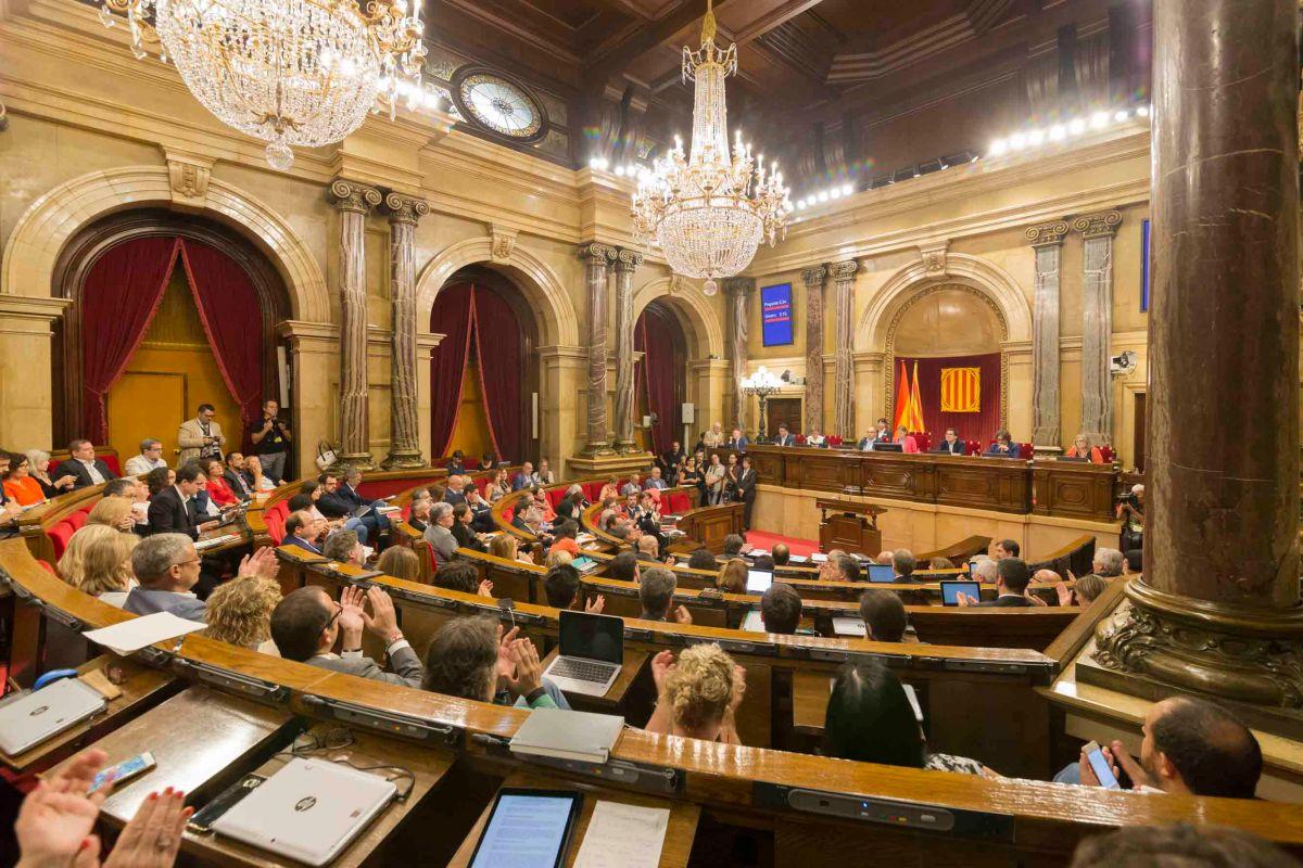 Sesio Parlament Llei Referendum