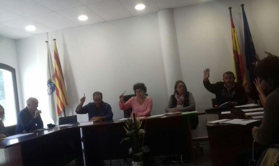 L'ajuntament de Castellbell i el Vilar va aprovar en un ple del passat dimecres, una moció contra l'article 155.