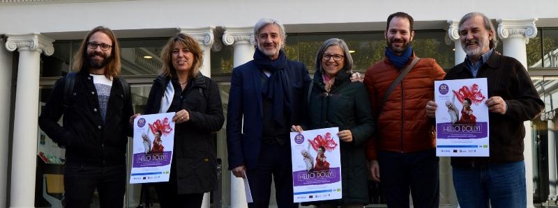 Dues funcions solidàries del musical 'Dolly, una dona exasperant' al Teatre Kursaal a benefici del futur Hospital de dia d'Oncologia d'Althaia(Manresa)