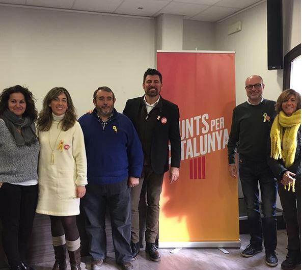 Junts X Catalunya fa campanya pel 21-D a Castellbell i el Vilar