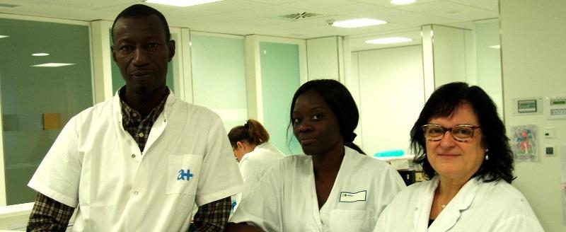 Per segon any, professionals de l'hospital senegalès de Thiès amplien la seva formació a la Fundació Althaia(Manresa)