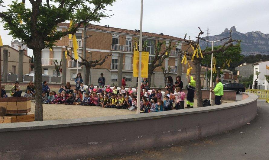 El Grup Municipal de ERC de Castellbell i el Vilar critica la retirada de llaços grocs per part de la brigada municipal durant la festa de Sant Jordi