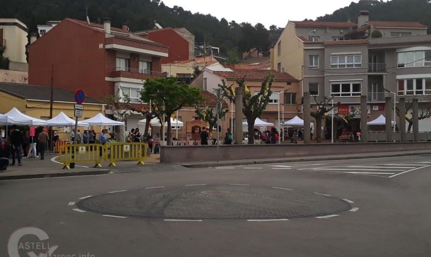 L'Ajuntament de Castellbell i el Vilar, va retirar alguns llaços grocs, perquè no tenien permís.