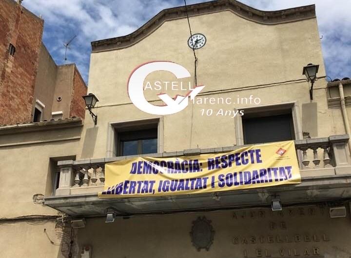 Missatge institucional de l'alcaldessa de Castellbell i el Vilar, Montserrat Badia