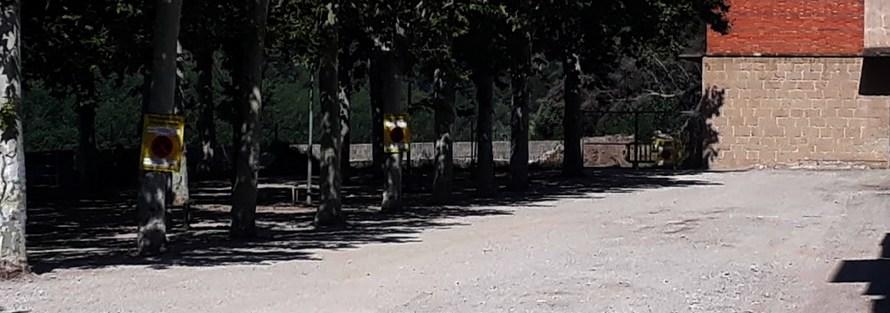 Finalitza la primera fase de l'arranjament de l'aparcament del Borràs