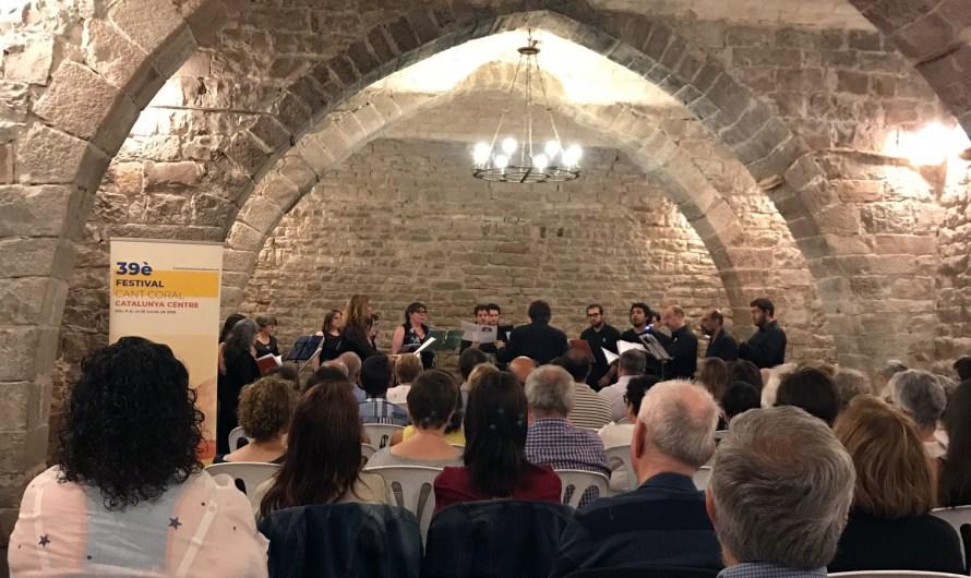 Concert de gran nivell del Cor Lerània a Balsareny