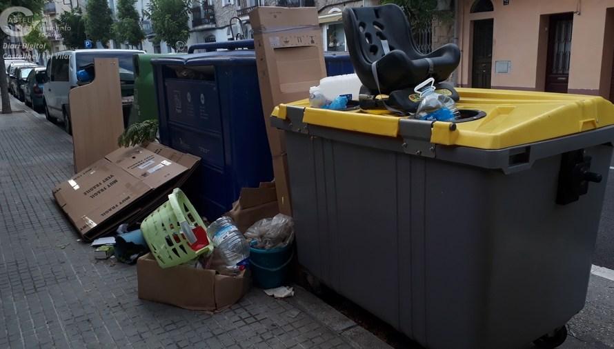 El Grup Municipal d'ERC de Castellbell i el Vilar demanen millores al servei de recollida de Residus