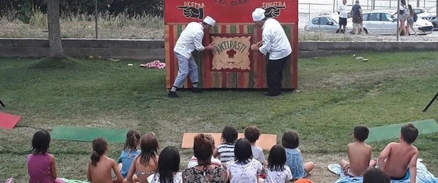 La festa major de Castellbell i el Vilar viu un amenitzat taller de mini pizzes
