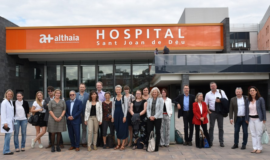 Empreses i Intitucions de Wefare Tech visiten Althaia a Manresa
