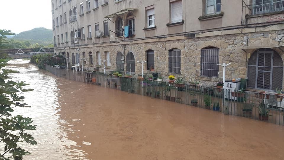 Desbordament Canal Bures