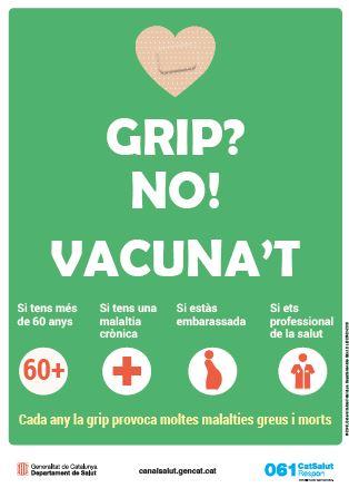 Presentació Vacunació Grip Cartell