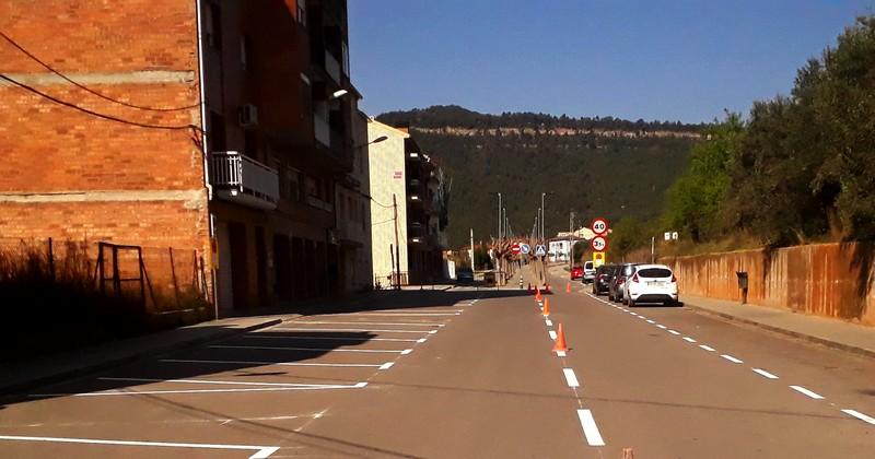 Senyalitzen els estacionaments a Castellbell i el Vilar.