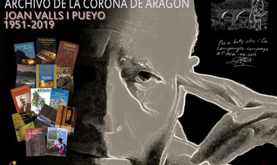 L'Arxiu de la Corona d'Aragó a Barcelona programa una exposició commemorativa de l'historiador Joan Valls