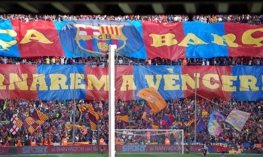 Castellbell i el Vilar celebra el títol de lliga del Barça 2018-19.