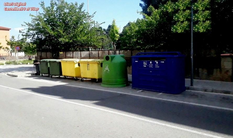 L'ajuntament de Castellbell i el Vilar mou els contenidors uns 25 metres.