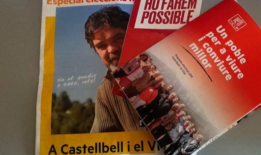 Que ens proposen els partits polítics de Castellbell i el Vilar, als seus programes electorals?