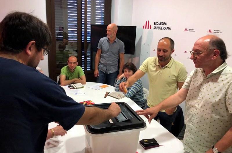 ERC de Manresa cedeix un any a Valentí Junyent com a alcalde