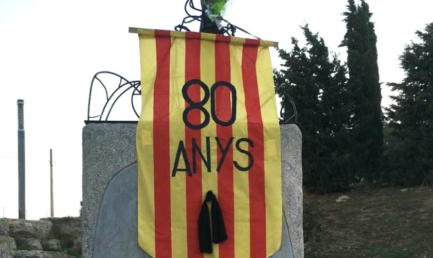 80 anys que van morir per la llibertat