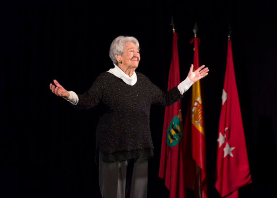 Mor l'actriu Manresana Assumpció Balaguer als 94 anys