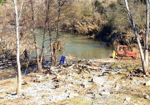 L'Agència Catalana de l'Aigua inicia la retirada de tot l'arbrat fet malbé per la crescuda del riu Llobregat