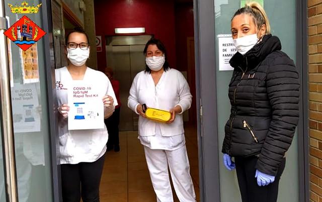 La Diputació de Barcelona inicia la distribució als ajuntaments de kits de detecció ràpida del coronavirus