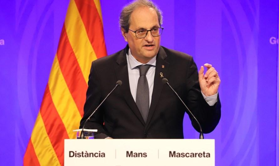 L'estat d' alarma decau a Catalunya a mitjanit