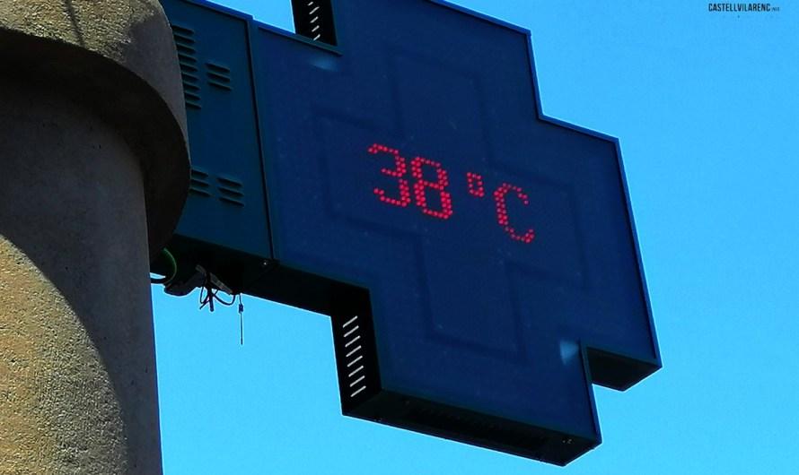 Protecció Civil demana extremar la prudència davant un nou episodi de temperatures extremes els propers dies