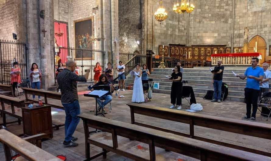 El Cor Francesc Valls reprèn l'activitat amb un concert a la Seu de Manresa per homenatjar als sanitaris