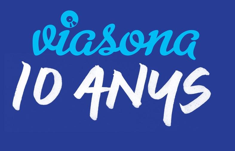 Viasona, el digital líder de música en català, fa 10 anys i ho celebra presentant nous continguts