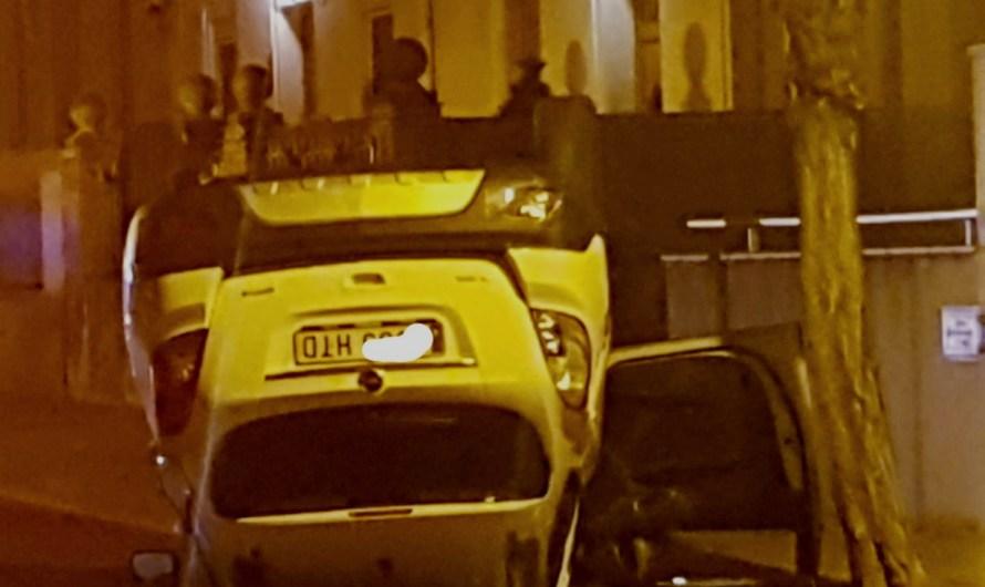 Bolca un vehicle al Joaquim Borràs