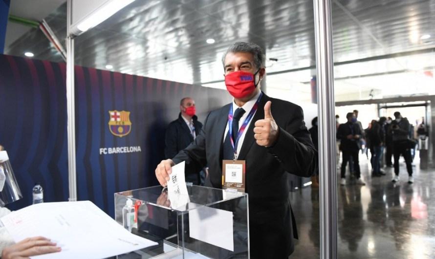 Joan Laporta tornarà a presidir el FC Barcelona