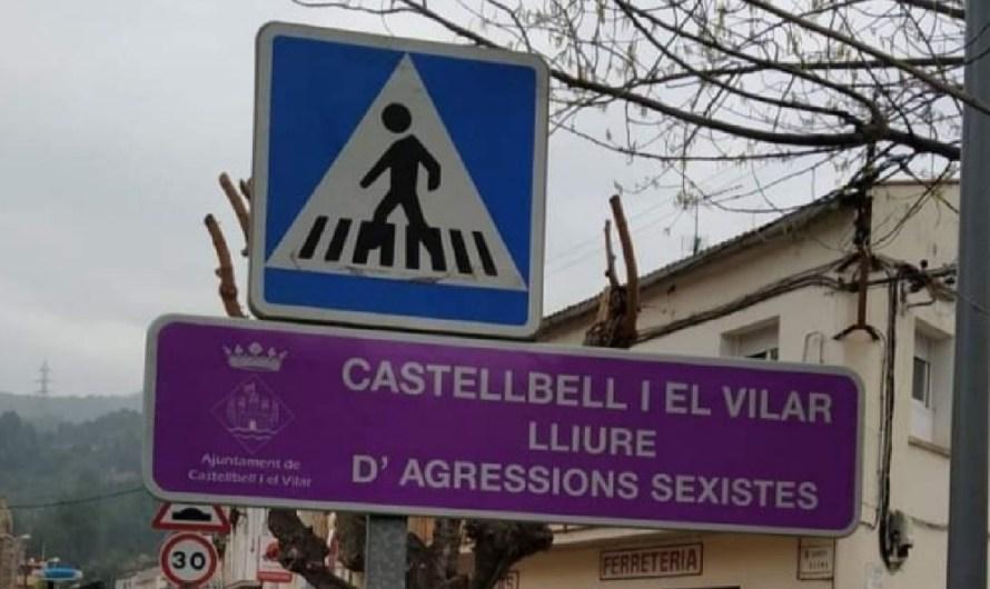 Castellbell i el Vilar col·loca senyals per rebutjar les agressions sexistes