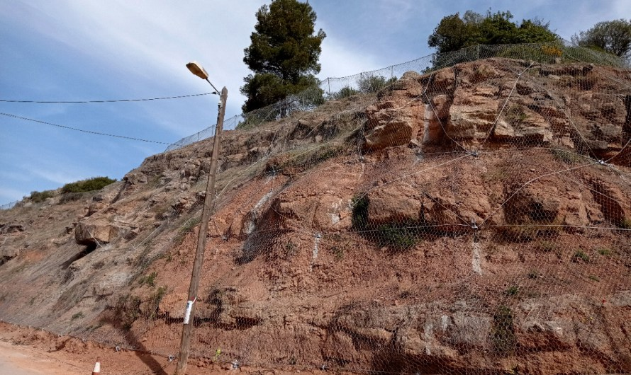 Castellbell i el Vilar acaba les obres d'estabilització del talús de La Bauma