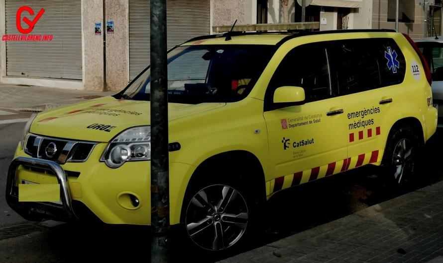Mor el conductor d'un cotxe en un xoc frontal a Sant Joan de Vilatorrada