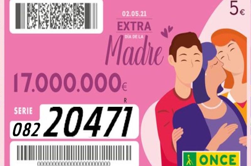El sorteig de l'ONCE del Dia de la Mare deixa prop de 21 milions a Santa Margarida i els Monjos