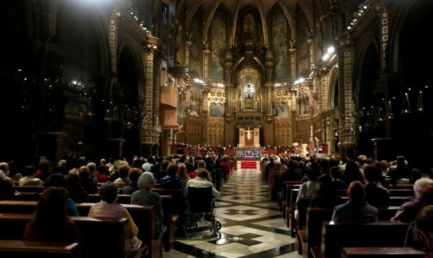 Montserrat prega per la fi de la pandèmia