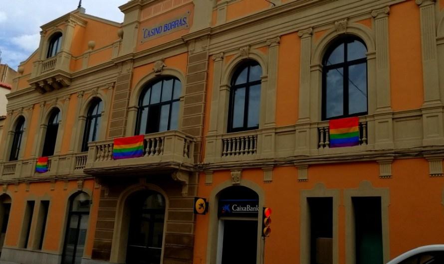 Castellbell i el Vilar celebra el dia Internacional de l'orgull LGTBI.