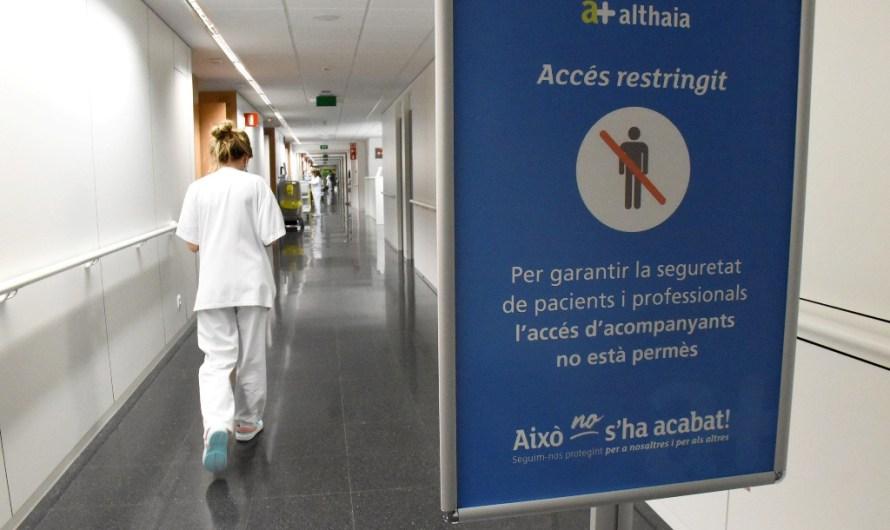 L'empitjorament de la pandèmia  fa restringir tot l'acompanyament als pacients hospitalitzats a Sant Joan de Déu de Manresa