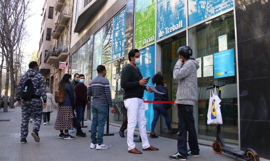 478.500 catalans sense feina aquest segon trimestre