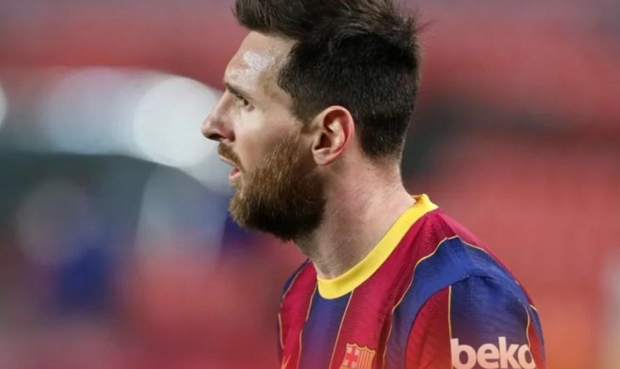 Messi marxa del Barça