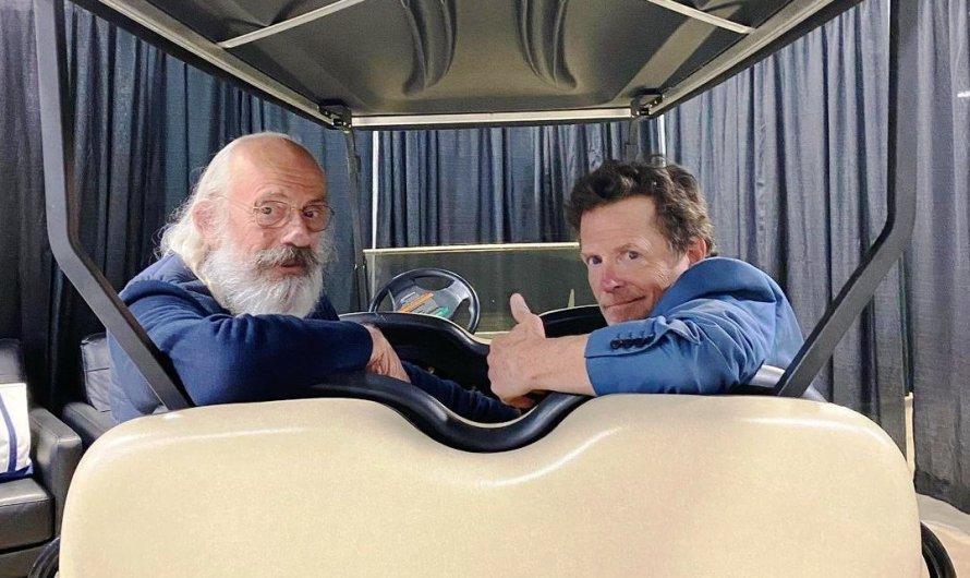 Marty Mc Fly i Doc es retroben 36 anys després