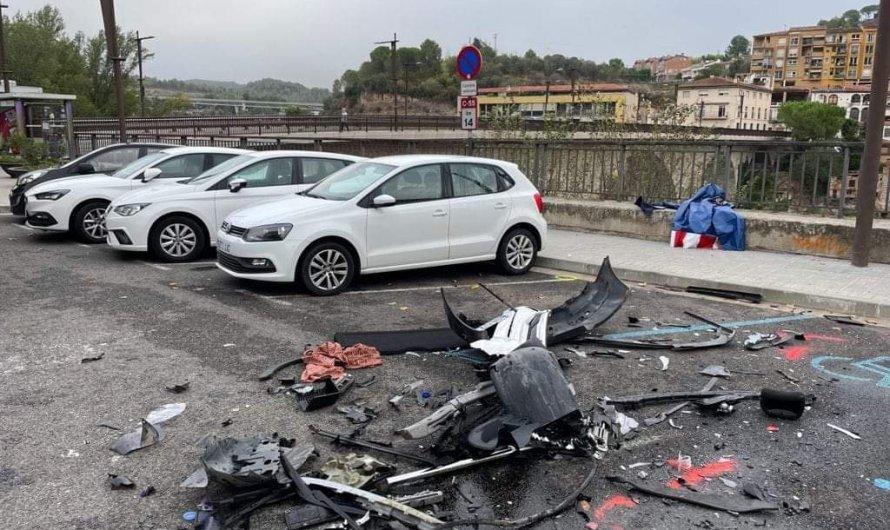Mor una dona de Manresa en un accident de trànsit a la C-55 a Monistrol de Montserrat